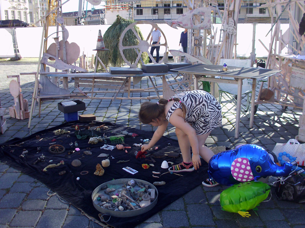 okonoma: künstlerische Intervention im öffentlichen Raum