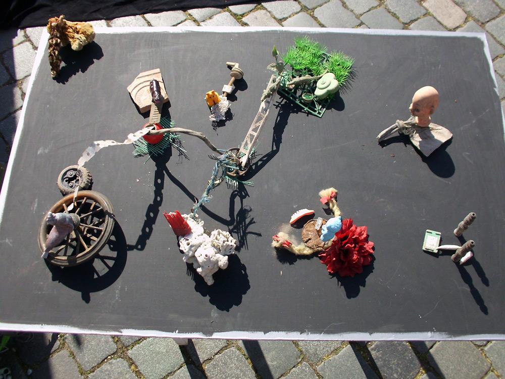 tokonoma: künstlerische Intervention im öffentlichen Raum