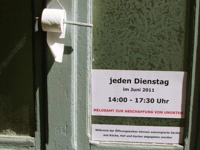 Stadtraumperformances: Unorte der Stadt Perleberg 2011