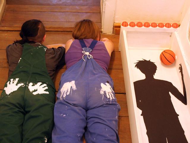 Schüler-Kunst-Projekt zur Möbelumwandlung