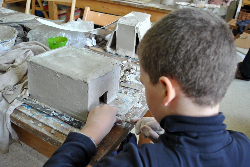 Schulprojekt Behausungen